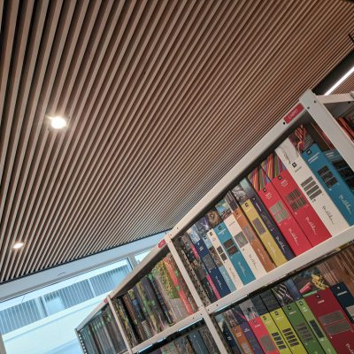 9Wood 1110 Cross Piece Grille at ZGF Architects, Washington, D.C. ZGF Architects.