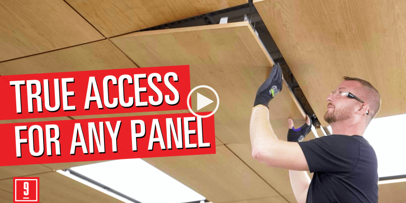 Accessible Wood Ceilings for any panel.